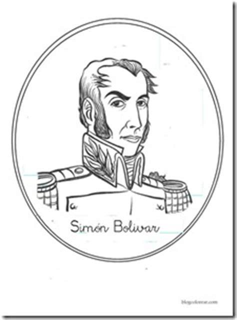dibujos para colorear d simon bolivar 17 de diciembre aniversario de la muerte de sim 243 n