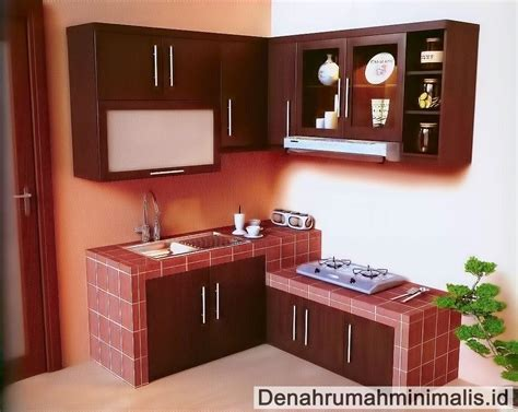 Tempat Bumbu Dapur Sederhana desain dapur minimalis sempit rumah type 36 denah desain