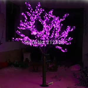 Led Landscape Tree Lights 1 040pcs Leds 2m Led Cherry Blossom Tree Light Artificial Tree Landscape Lighting Outdoor