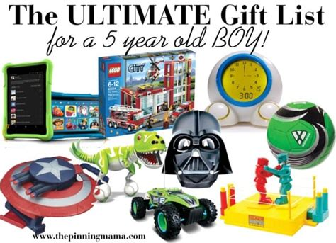 5 year old christmas gifts the ultimate list of gift ideas for a 5 year boy the pinning