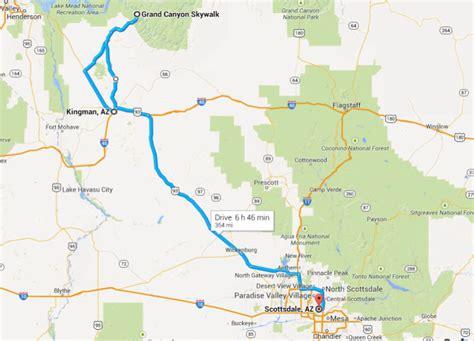 grand map skywalk brad s visit part 2 grand skywalk arizona