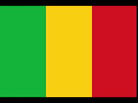 flags of the world green yellow red flag of mali country flags youtube