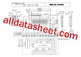 datasheet transistor mdl 3088 mdl 20464 datasheet pdf varitronix international limited