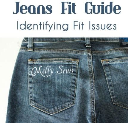 jeans fit guide identifying fit issues melly sews | autos post