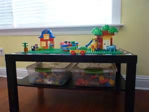 Lego Coffee Table by Craftyerin Lego Duplo Table