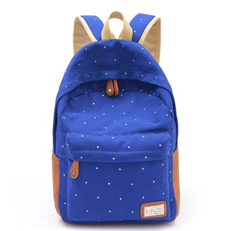 8 Adorable Backpacks by Korean Canvas Printing Backpack School Bags For