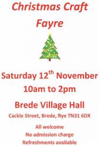 christmas craft fayre gt hastings in east sussex town guide