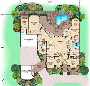 My Cool House Plans Luxury Style House Plans 12268 Square Foot Home 3