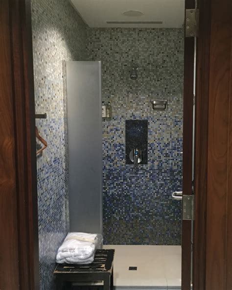 Shower Over Bath Options emirates first class lounge dubai review travelsort