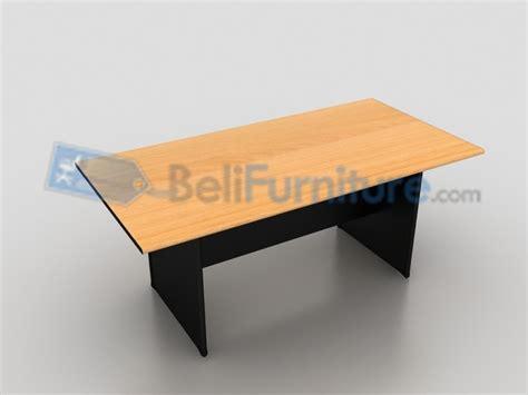 Meja Kantor Murah Best Seller Uno Classic 140 Cm uno classic meja meeting 180 cm meja kantor meeting