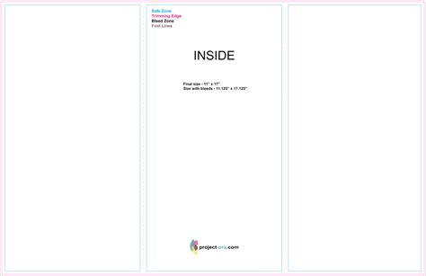 tri fold brochure template illustrator all templates deal