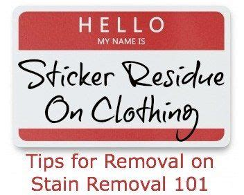 How To Remove Stickers From Porcelain