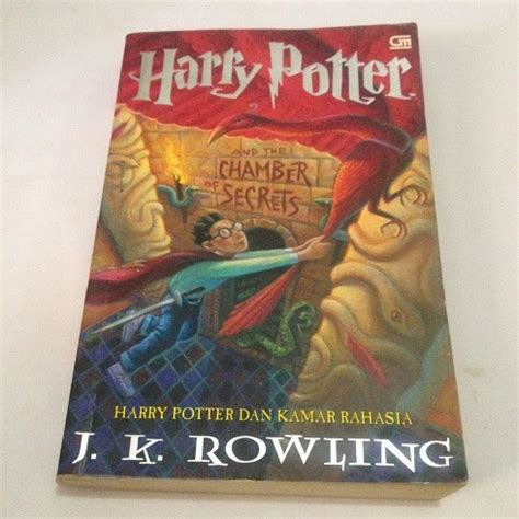 Buku Novel Baru Buku 5 Harry Potter Orde 2 harry potter 2 harry potter dan kamar rahasia bekas