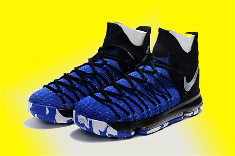 black and blue nike basketball shoes 2017 nike zoom kd 9 elite black blue for sale hoop