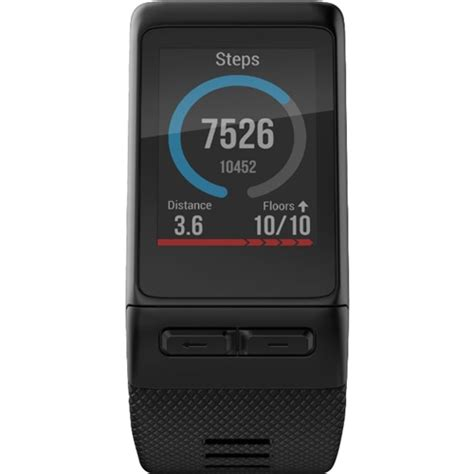 Vivoactive Hr garmin vivoactive hr smartwatch black 010 01605 04 best buy