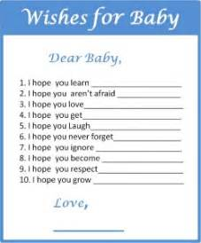 baby shower wishes my practical baby shower guide