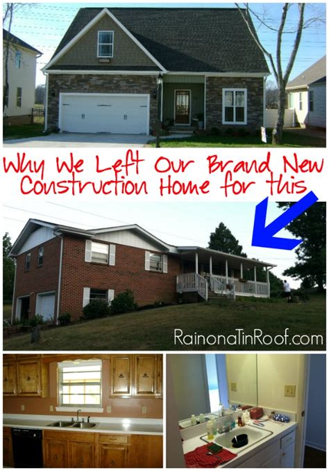 building new home why we left our brand new construction home for a 70 s rancher