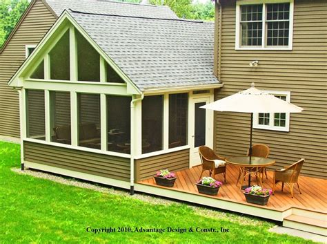 3 season porch plans three season porches archadeck outdoor living