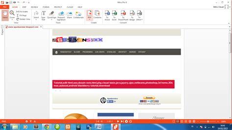 cara membuat web sederhana pdf membuat website menjadi pdf agustyansixx blogspot com
