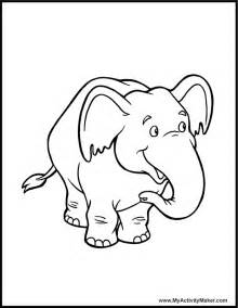 elephant coloring page free coloring pages of elephant with patterns