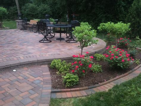 patios ideas landscaping patios with seatwalls traditional patio detroit by