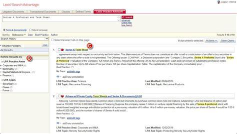 Lexisnexis Search See Lexis 174 Search Advantage With Lexis Practice Advisor 174