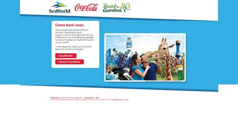 Busch Gardens Sweepstakes - seaworld or busch gardens refreshing getaway sweepstakes ever wanted to visit busch
