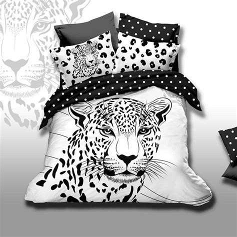 black and white polka dot bedding unique black and white polka dot animals snow leopard bedding set queen size 100