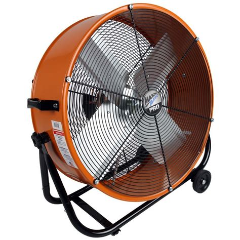 large outdoor cooling fans maxxair pro 24 in industrial heavy duty 2 speed multi