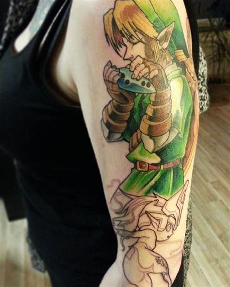 zelda tattoo tattoos designs ideas and meaning tattoos for you