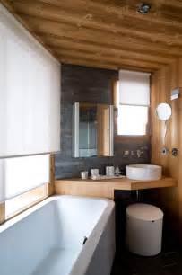 indogate idee deco salle de bain noir et gris