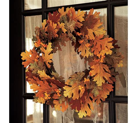 Door Wreaths Pottery Barn Adorn Your House In This With Pottery Barn Wreaths Homesfeed