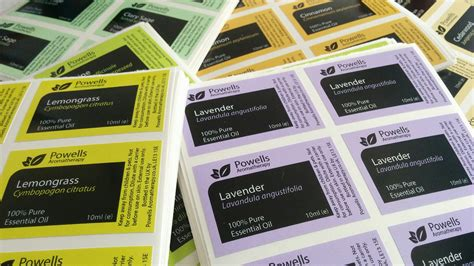 Custom Sticker Label Vinyl White 20 Cm Printlamcut custom adhesive gloss stickers labels laminated diy