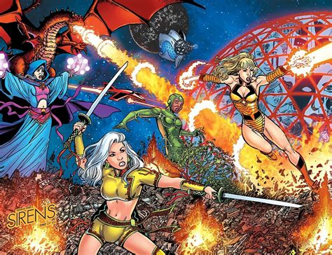 george perez s sirens books preview george perez s sirens 1 boom
