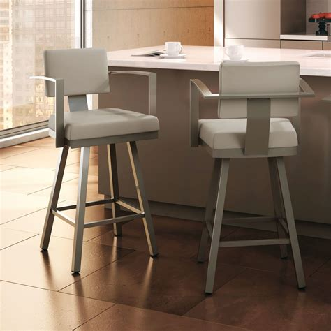 Grey Bar Stool Chairs by Bar Stools With Backs For Inspiring High Chair Design