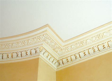 Period Cornice guide to plaster mouldings period living