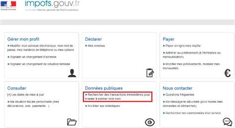 Impots Gouv Fr Patrim 2873 patrim usagers estimation d un bien immobilier
