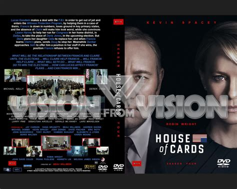 House Of Cards Dvd by House Of Cards Season 4 Dvd