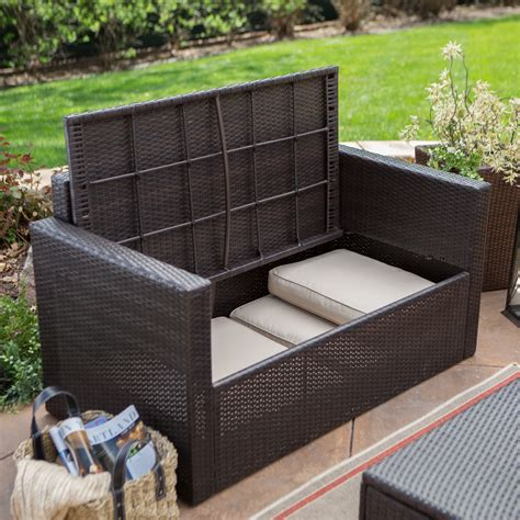 outdoor sofa with storage outdoor sofa set with storage infosofa co