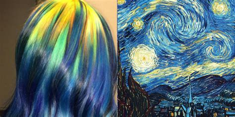 hair colors inspired by paintings ursula goff instagram hairstyles