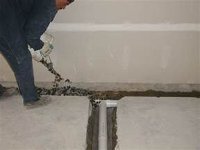 interior basement drainage systems perma waterproofing