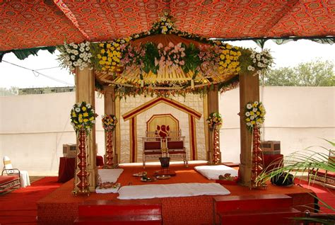Marriage Wedding Decoration by 7 Gorgeous Mandaps For Your Weddingkhoobsurati