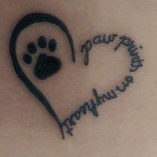 looking for a paw print looking for a paw print tattoos