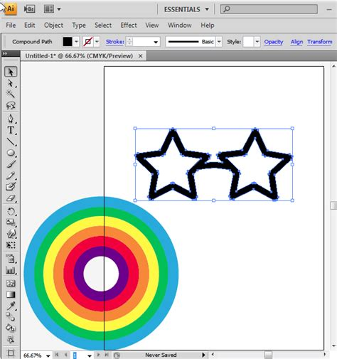 how to fill color in illustrator adobe illustrator how to fill a shape with