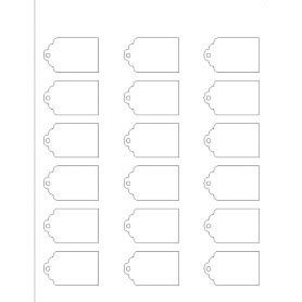 avery tags template templates printable tag 18 per sheet avery