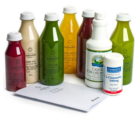 Juice Detox Home Delivery by Radiance Cleanse Organic Juice Detox Delivery