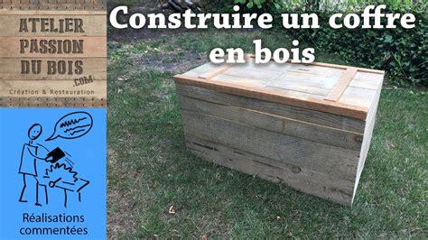 Fabriquer Un Coffre En Palette by Comment Faire Un Coffre En Bois De Palette