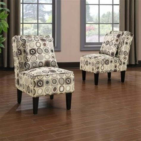 Armless Living Room Chairs by Armless Accent Chairs Modern Living Room Furniture