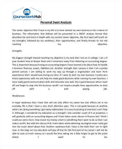 personal swot analysis essay www pixshark com images