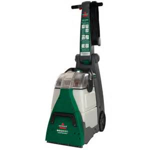 home carpet cleaners shop bissell big green 0 speed 1 75 gallon upright carpet